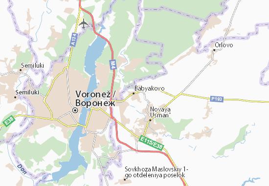 Babyakovo Map