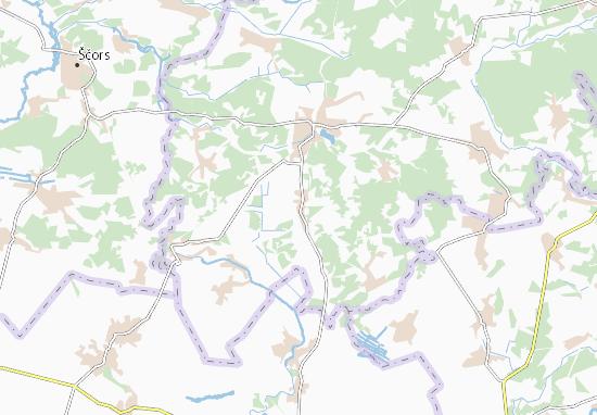 Carte-Plan Tyutyunnytsya