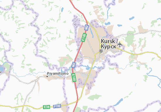 Map Of Ya Mokva Michelin Ya Mokva Map ViaMichelin - Kursk map