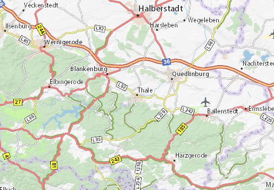 Thale Map