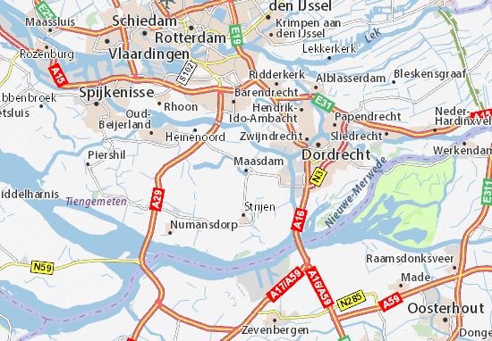 Maasdam Map