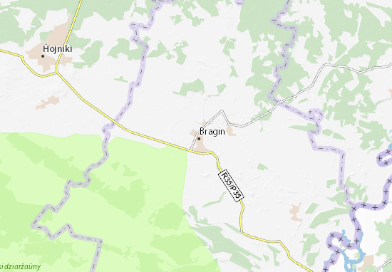 Mapa Plano Bragin