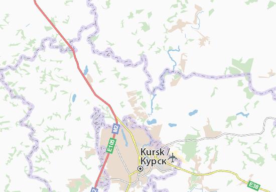 Carte-Plan Pashkovo