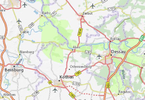 Aken Map