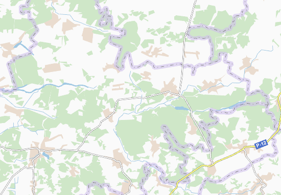 Carte-Plan Oleshnya