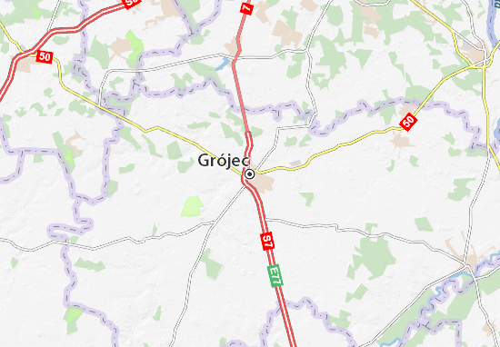 Grójec Map