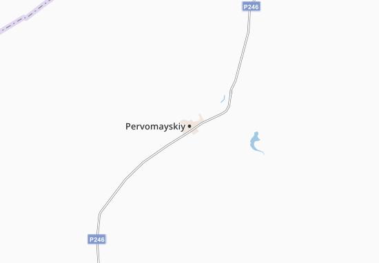 Carte-Plan Pervomayskiy