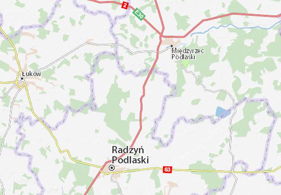 Mapa Kąkolewnica