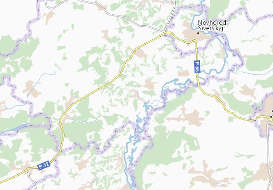 Mappe-Piantine Kudlaivka