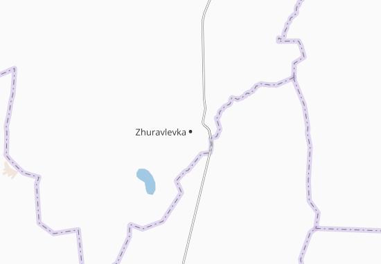Carte-Plan Zhuravlevka