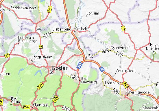 Karte Stadtplan Vienenburg