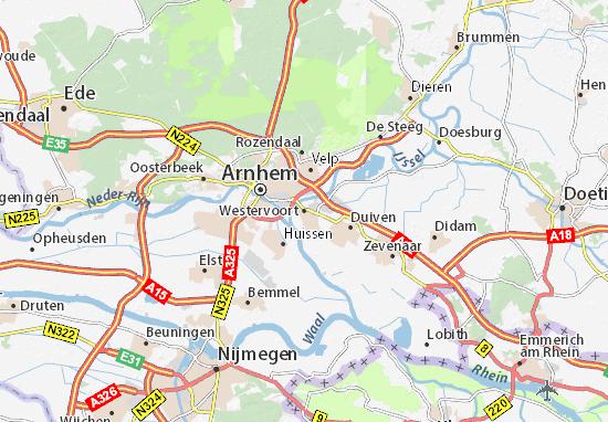 Westervoort Map