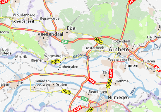 Carte-Plan Renkum