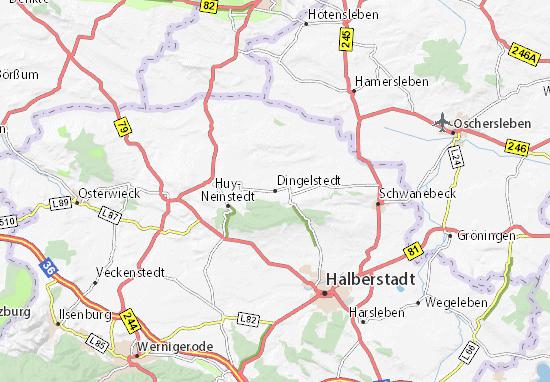 Karte Stadtplan Dingelstedt