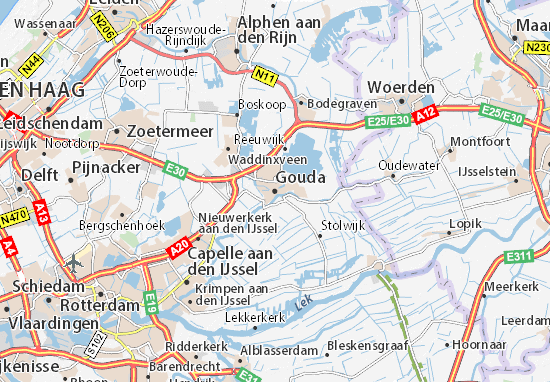 Carte-Plan Gouda