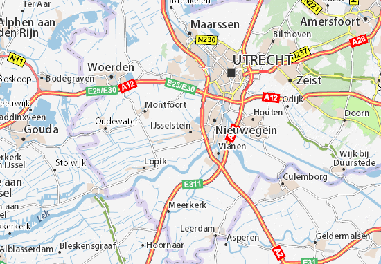 Carte-Plan IJsselstein
