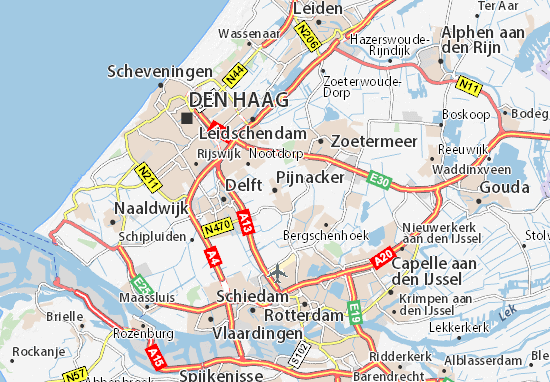 Mapas-Planos Pijnacker
