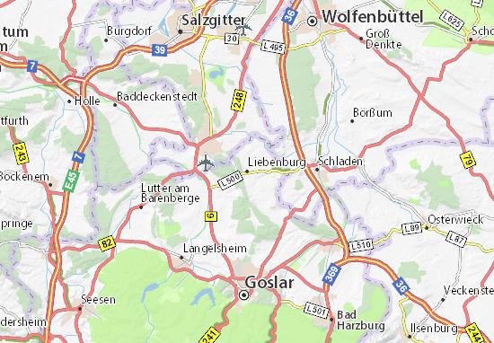 Liebenburg Map
