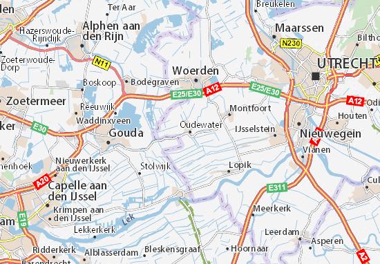 Mapa Oudewater