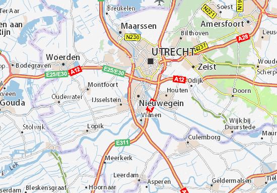 Mapa Nieuwegein
