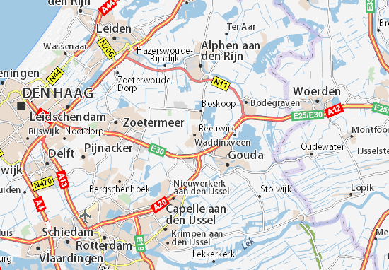 Waddinxveen Map