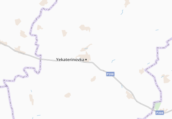 Mappe-Piantine Yekaterinovka