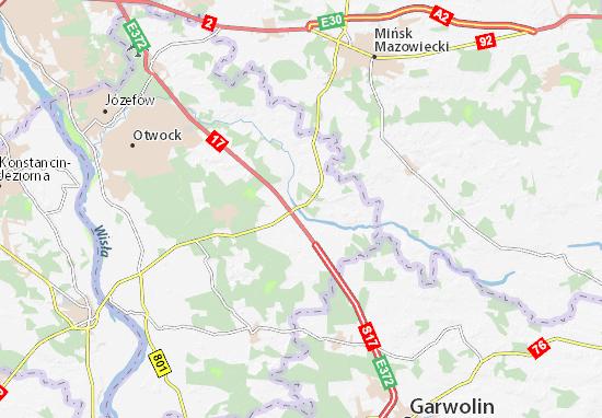 Kołbiel Map