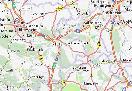Karte Stadtplan Baddeckenstedt