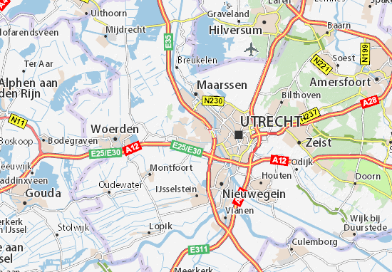 Carte-Plan Utrecht