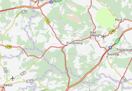 Carte-Plan Wiesenburg