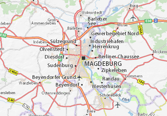Mappe-Piantine Magdeburg