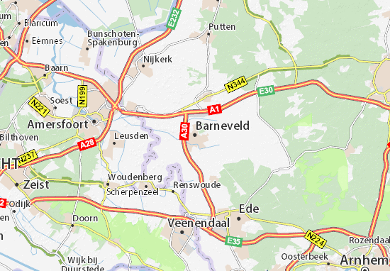 Mapa Barneveld