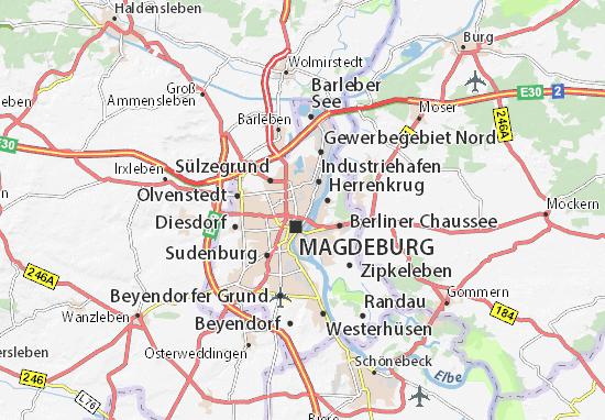 Carte-Plan Alte Neustadt