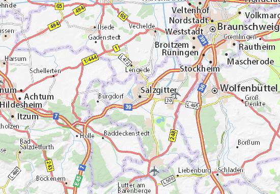 Mapa Plano Salzgitter