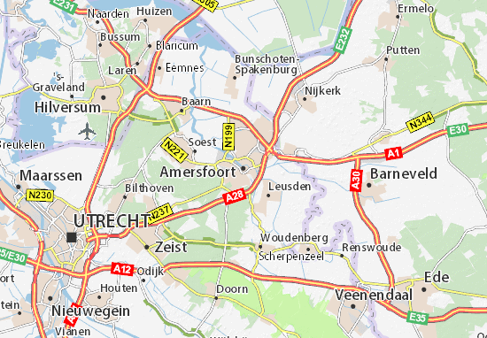 Carte-Plan Amersfoort