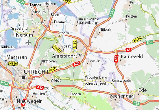 Mapa Amersfoort