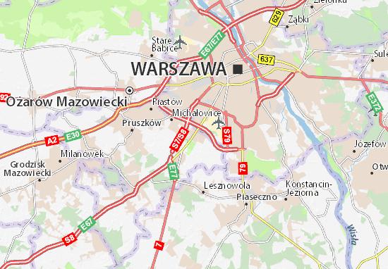 Mapa Raszyn
