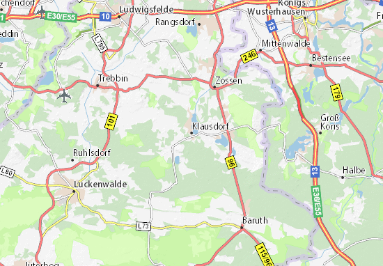Karte Stadtplan Klausdorf