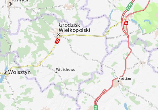Kamieniec Map