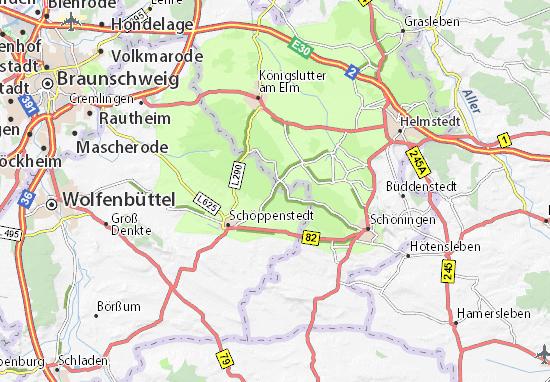 Barnstorf-Warle Map