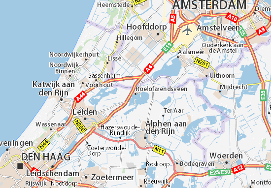 Mapas-Planos Roelofarendsveen