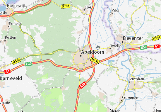 Mapa Plano Apeldoorn