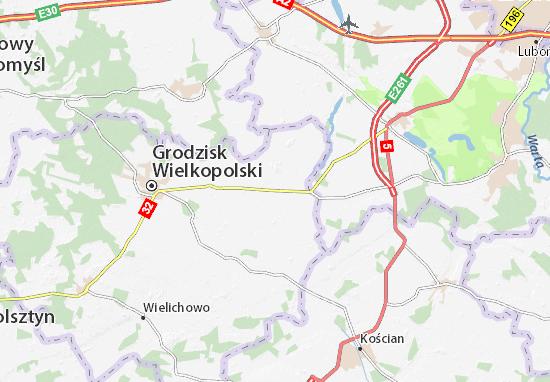 Granowo Map