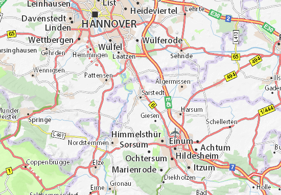 Sarstedt Map