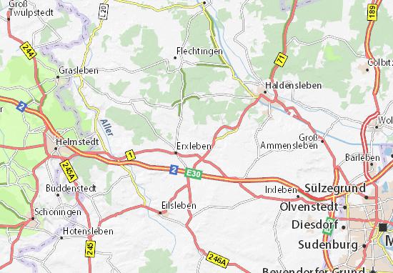 Emden Karte.Karte Stadtplan Emden Viamichelin