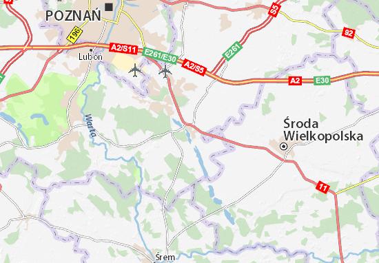 Kórnik Map