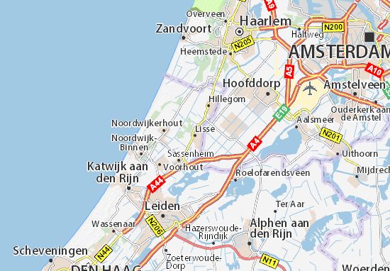 Lisse Map