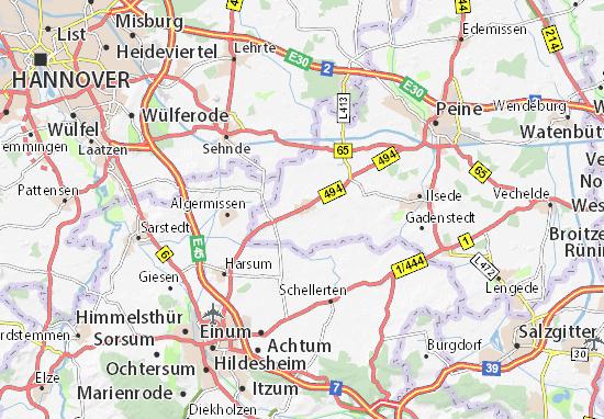 Hohenhameln Map