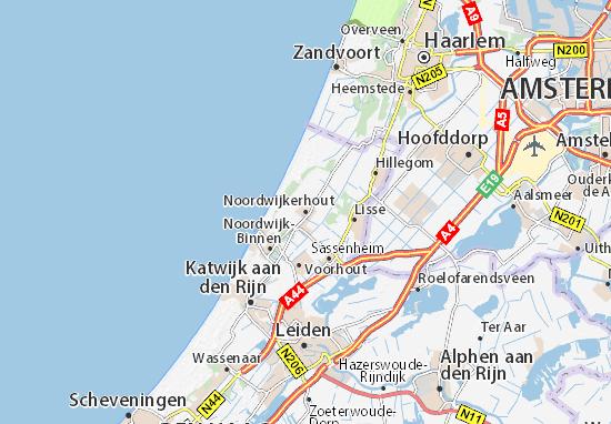 Noordwijkerhout Map