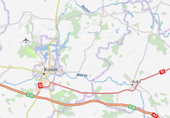 Kramsk Map